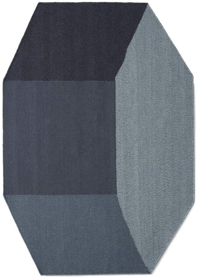 Menu - Willenz Volume Teppich small, Blau