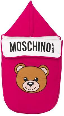 Moschino Kids Teddy Toy print sleeping bag