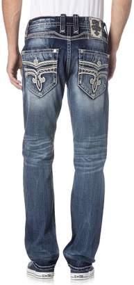Rock Revival Men's Acwel J201 Straight Cut Jeans