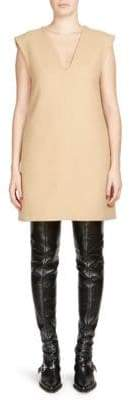 Chloé Double-Faced Wool Shift Dress