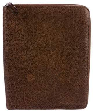 Brunello Cucinelli Grained Leather iPad Case