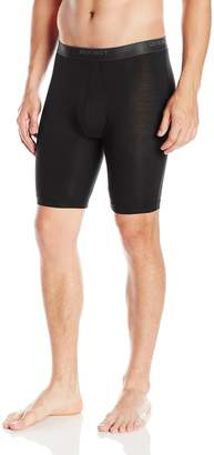 2xist Men's 24 Modal Long Leg Boxer Brief
