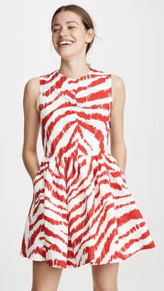 MSGM Striped Frock Dress