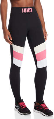 Juicy Couture Chevron Stripe Leggings