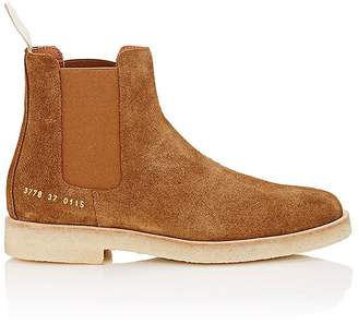 Common Projects Women's Suede Chelsea Boots