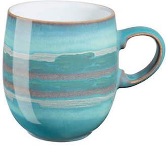 Denby Azure Coast Stoneware Large Curve Mug