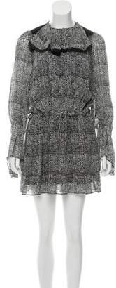 Balenciaga Printed Mini Dress