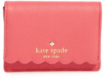 Kate Spade Women's Kate Spade New York Morris Lane Beca Leather Wallet - Blue