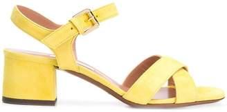 L'Autre Chose crossover slingback sandals