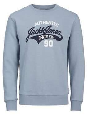 Jack and Jones Logo Crewneck Sweater