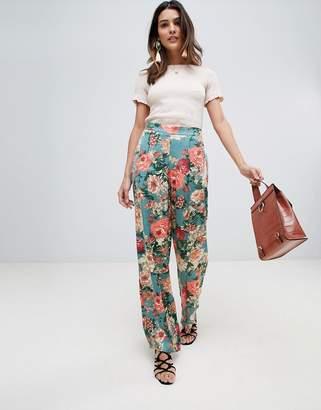 Vila Wide Leg Floral Pants