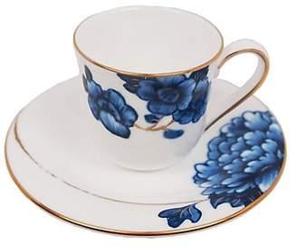 Prouna Emperor Flower Espresso Cup & Saucer
