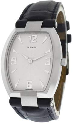 Concord La Scala 14 25 1470.1 Stainless Steel and Leather Quartz 30mm Watch