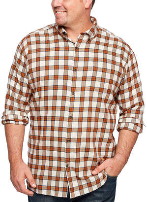 7ae161ee87bc Co THE FOUNDRY SUPPLY The Foundry Big   Tall Supply Mens Long Sleeve  Flannel Shirt Big