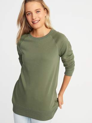 Old Navy French-Terry Boyfriend Tunic Sweatshirt for Women