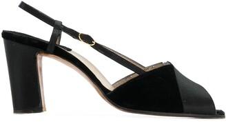 Salvatore Ferragamo Pre-Owned peep toe sandals