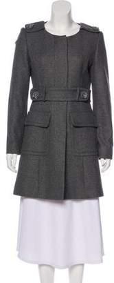 RED Valentino Wool Knee-Length Coat