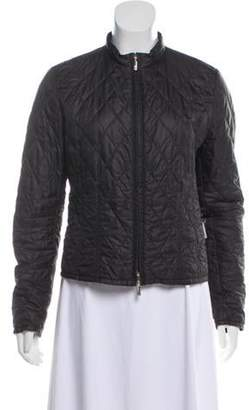 Moncler Lightweight Quilted Jacket Black Lightweight Quilted Jacket