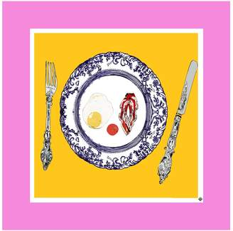 Jessica Russell Flint - The Egg & Bacon Plate Limited Edition Signed Print