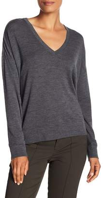 Vince Wool Drop Shoulder Sweater