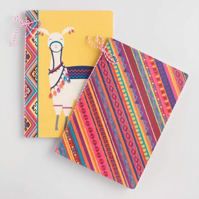 Llama Journals Set of 2