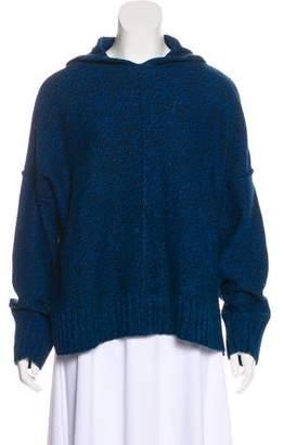 Alexander Wang Wool-Blend Hooded Sweater