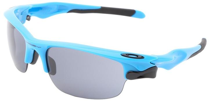 Oakley D-MPH Fast Jacket (Sky Blue w/ Grey) - Eyewear