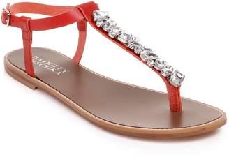 Badgley Mischka Collection Lucia Crystal Embellished Sandal