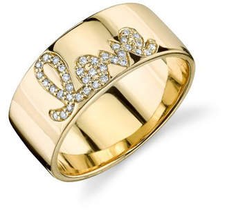 Sydney Evan Diamond Love Band Ring