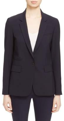 Veronica Beard 'Classic' Lambswool Blend Single Button Blazer