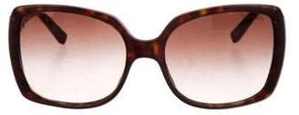 Tiffany & Co. Tortoiseshell Acetate Sunglasses