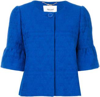 Blugirl pleated back cropped jacket