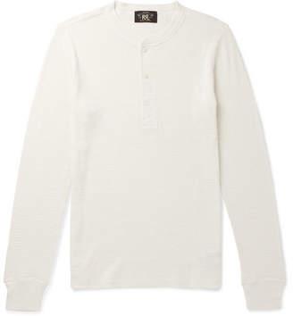 RRL Waffle-Knit Cotton Henley T-Shirt