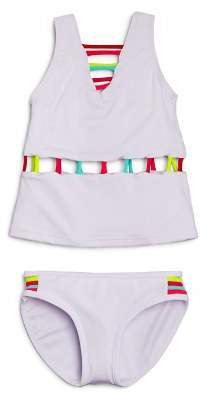 Peixoto Piexoto Girls' Neon Cutout Tankini - Little Kid, Big Kid