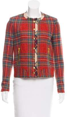 Rag & Bone Plaid Wool Jacket