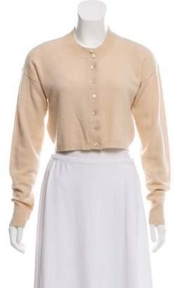White + Warren Cashmere Knit Button-Up Cardigan