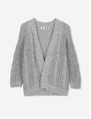 Cotton On Girls 2T-10 Fleur Cardigan Sweater