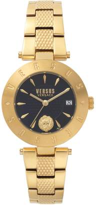 Versace New Logo Stainless Steel Bracelet Watch