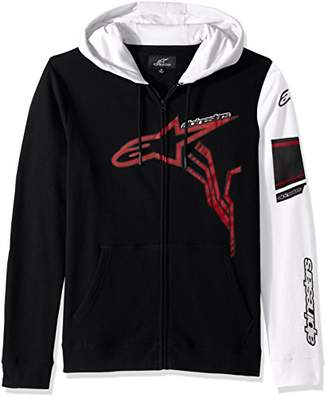 Alpinestars Men's Full Zip Hooded Sweatshirt Modern Fit 280 GSM Motorsports Fleece