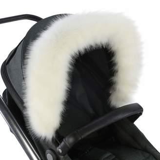 For Your Little One For-Your-Little-One Fur Hood Trim Pram Compatible on Quax