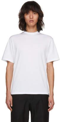 Christian Dada White Kanji Ransei T-Shirt
