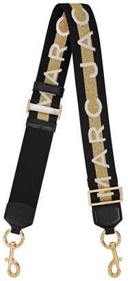 Marc Jacobs Striped Logo Webbing Bag Strap