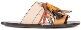 See by Chloe tassel slider sandals