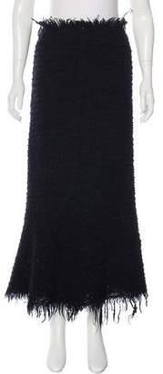 Junya Watanabe Wool Maxi Skirt