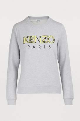 1cdfb0e3a1a Kenzo Gray Women's Sweatshirts - ShopStyle