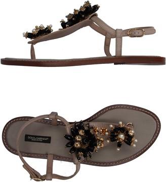 Dolce & Gabbana Toe strap sandals - Item 11158137EW