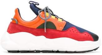 Versus colour-block low top sneakers