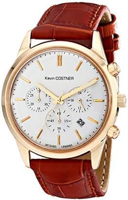 Jacques Lemans Unisex KC-103B Kevin Costner Collection Analog Display Quartz Brown Watch