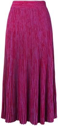 Marni live cut hem skirt