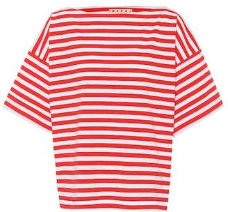 Marni Striped cotton T-shirt